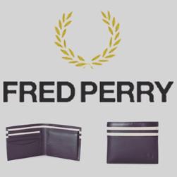 FRED PERRY(フレッドペリー)/レザーウォレット(L8234) Black -送料無料-