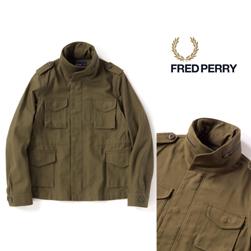 FRED PERRY(フレッドペリー)/レディースフィールドコート(F6247) Olive -送料無料-