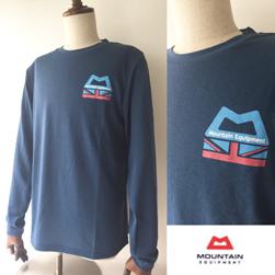 MOUNTAIN EQUIPMENT(マウンテンイクイップメント)/オールドロゴドライTシャツ Indigo