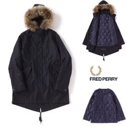 FRED PERRY フレッドペリー /モッズコート (FISHTAIL PARKA F2516) Dark Navy -送料無料-