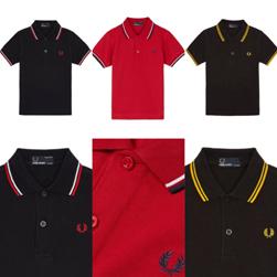 FRED PERRY(フレッドペリー)/キッズラインポロシャツ(SY1200)