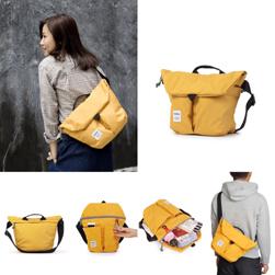 hellolulu(ハロルル)/ショルダーバッグ(KASEN) Yellow