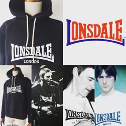 LONSDALE(ロンズデール)/ベーシックパーカー(L7102) Black