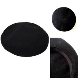 PUB(パブ)/ベレー(Summer Linen Beret) Black