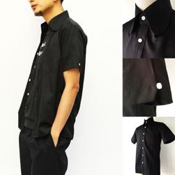 Original John(オリジナルジョン)/ビーグルカラーシャツ(SHBC271) Black -送料無料-