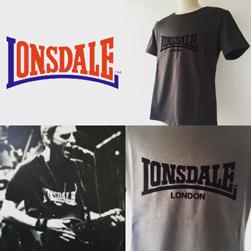LONSDALE(ロンズデール)/ベーシックTシャツ(L7101) Chacoal