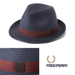 FRED PERRY(フレッドペリー)/ストロートリルビーハット(HW1621) Navy