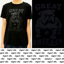 Original John(オリジナルジョン)/Tシャツ(BULLDOG) Black x Black