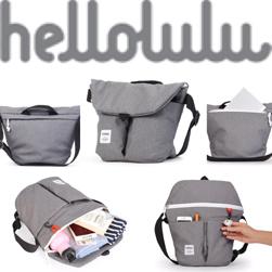 hellolulu(ハロルル)/ショルダーバッグ(KASEN) Dark Grey