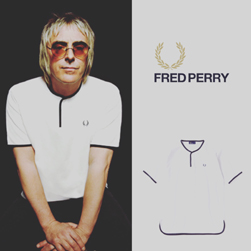 FRED PERRY(フレッドペリー)/カノコヘンリーネックTシャツ(F1656) White