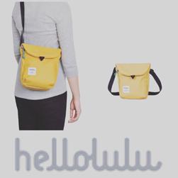 hellolulu(ハロルル)/ミニショルダーバッグ(DESI) Yellow