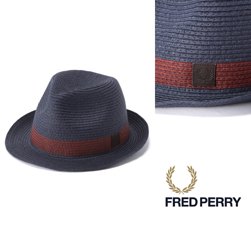 FRED PERRY(フレッドペリー)/ストロートリルビーハット(HW1621) Navy