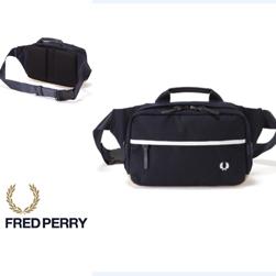 FRED PERRY(フレッドペリー)/ナイロンウエストバッグ(F9281) Navy -送料無料-