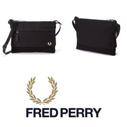 FRED PERRY(フレッドペリー)/ナイロンサコッシュバッグ(F9283) Black