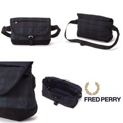 FRED PERRY(フレッドペリー)/ピケミニショルダーバッグ(F9279) Blackwatch -送料無料-