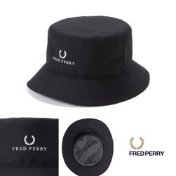 FRED PERRY(フレッドペリー)/バケットハット(F9504) Black
