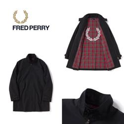 FRED PERRY フレッドペリー / ハリントンマック (HARRINGTON MAC F2531) Black -送料無料-