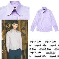 Original John オリジナルジョン / レトロビーグルカラーシャツ(RETRO BEAGLE) Purple -送料無料-
