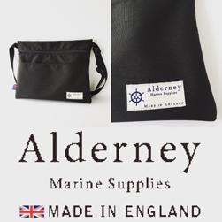 Alderney アルダニー / サコッシュバッグ Black