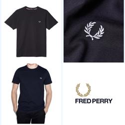 FRED PERRY(フレッドペリー)/クルーネックTシャツ(F1716) Navy