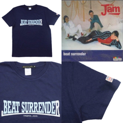 Original John オリジナルジョン / プリントTシャツ(BEAT SURRENDER) Navy