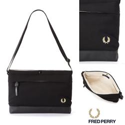 FRED PERRY フレッドペリー / ピケサコッシュバッグ(F9543) Black