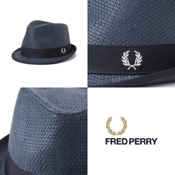 FRED PERRY フレッドペリー / ストロートリルビーハット(HW3639) Navy