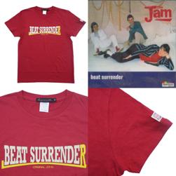Original John オリジナルジョン / プリントTシャツ(BEAT SURRENDER) Burgundy