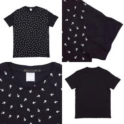 Original John オリジナルジョン / プリントTシャツ(ARROWS) Black