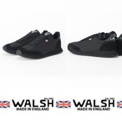 WALSH ウォルシュ / スニーカー(TORNADO) Black -送料無料-
