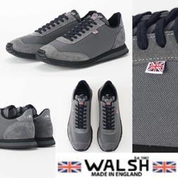 WALSH ウォルシュ / スニーカー(TORNADO) Grey -送料無料-