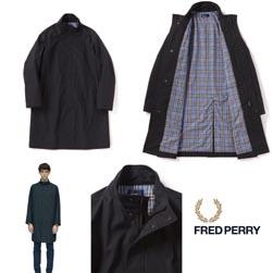 FRED PERRY フレッドペリー / スクーターコート(F2556) Black -送料無料-