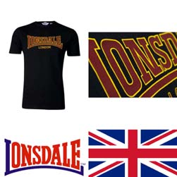 LONSDALE ロンズデール / クラシックTシャツ Black