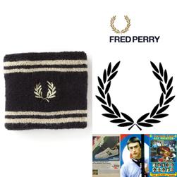 FRED PERRY フレッドペリー / ティップドリストバンド(F19690) Black