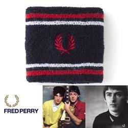 FRED PERRY フレッドペリー / ティップドリストバンド(F19690) Navy x Red x White
