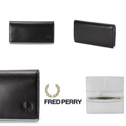 FRED PERRY フレッドペリー / レザーパース(F19869) Black -送料無料-