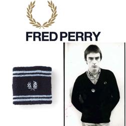 FRED PERRY フレッドペリー / ティップドリストバンド(F19690) Navy