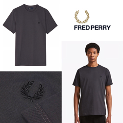 FRED PERRY フレッドペリー / リンガーTシャツ(M3519) Gunmetal