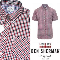 Ben Sherman ベンシャーマン / ハウスチェックボタンダウンシャツ House Check -送料無料-
