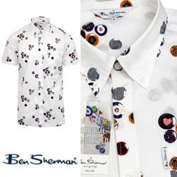 Ben Sherman ベンシャーマン / ノーザンソウルアーカイブボタンダウンシャツ White