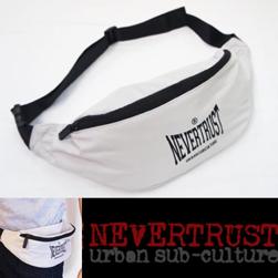 NEVERTRUST ネバートラスト / ウエストバッグ Silver Grey