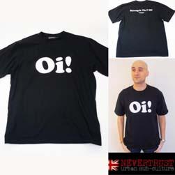 NEVERTRUST ネバートラスト / Tシャツ(Oi!) Black
