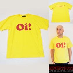 NEVERTRUST ネバートラスト / Tシャツ(Oi!) Yellow