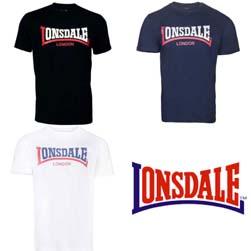 LONSDALE ロンズデール / ツートーンロゴTシャツ