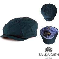 FAILSWORTH フェイルスワース / アイリッシュリネンキャスケット(ALFIE) Petrol