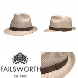 FAILSWORTH フェイルスワース / ストロートリルビーハット Dove