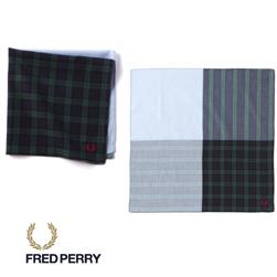 FRED PERRY フレッドペリー / ハンカチーフ(F19790) Navy