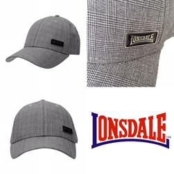 LONSDALE ロンズデール / グレンチェックキャップ Grey