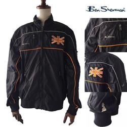 Ben Sherman ベンシャーマン / ナイロンレーサージャケット Black