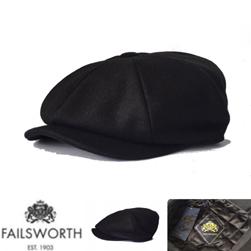 FAILSWORTH フェイルスワース / メルトンキャスケット(ALFIE) Black